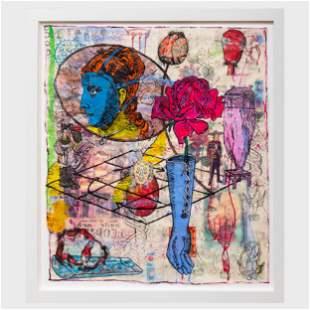 Jane Hammond (b. 1950): Face Glove