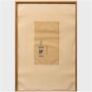 Robert Motherwell (1915-1991): Gauloises Bleues (Yellow