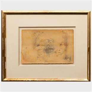 Arshile Gorky (1904-1948): Untitled