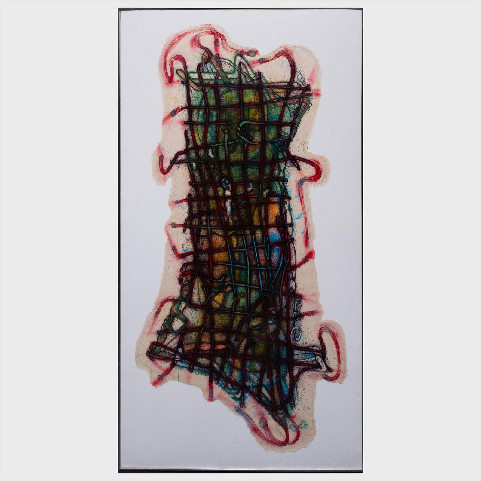 Elizabeth Murray (1940-2007): Wiggle Manhattan