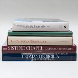 Miscellaneous Group of Books on Italian Art and History
