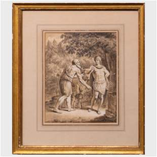 European School: Mythological Scenes: Two Works