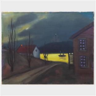 Murray Hantman (1904-1999): Monhegan, ME