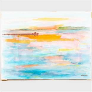 Murray Hantman (1904-1999): Maine Riverlets; Breakwater;