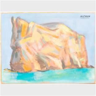 Murray Hantman (1904-1999): Perce Rock; Rosy Peaks;