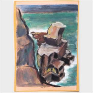 Murray Hantman (1904-1999): Rockbound; Pulpit Rock; and