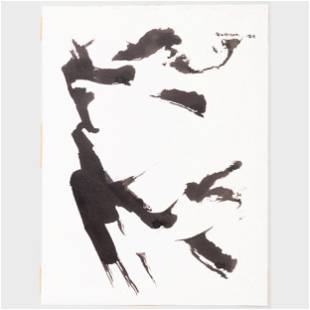 Murray Hantman (1904-1999): Sumi Ink: Four Works