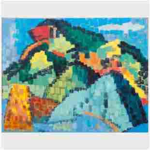 Murray Hantman (1904-1999): Mt. St. Anne