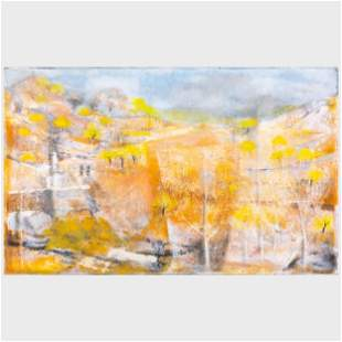 William Thon (1906-2000) : Moment in Arcadia