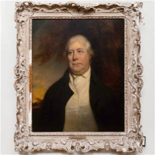 Attributed to John Watson Gordon (1788-1864): Portrait