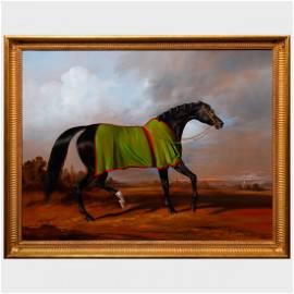Bernard de Claviere (1934-2016): Black Stallion