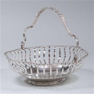 George III Silver Cake Basket