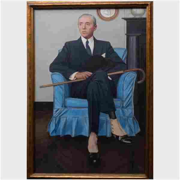 Bernard Boutet de Monvel (1881-1949): Portrait of