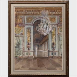 William Bruce Ellis Ranken (1881-1941): La Galerie des