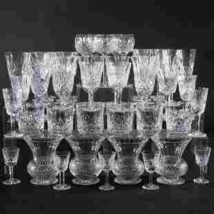 Waterford Part Stemware Service in the 'Lismore'