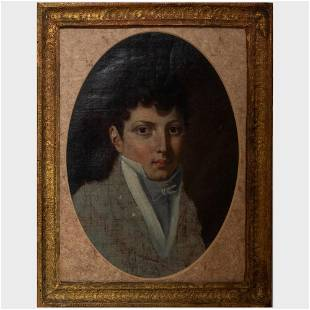 French School: Portrait of a Young Gentleman