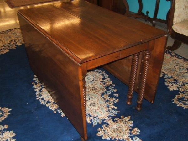 7081: DROP LEAF GATE LEG TABLE