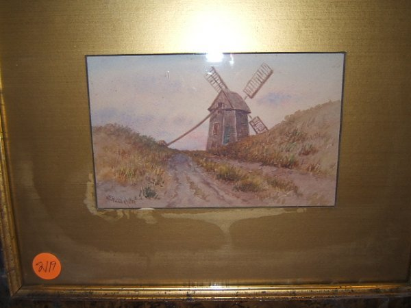 2119: FRAMED WATERCOLOR -W.G. PUDDEFOOT