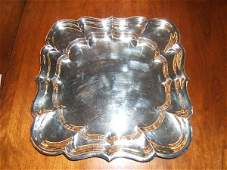 5216 CARTIER STERLING SILVER TRAY