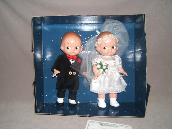 7013: CAMPBELLS KIDS BRIDE AND GROOM IN BOX