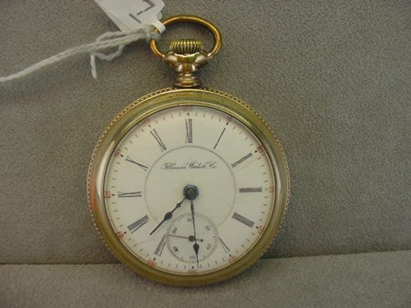 4007: 17J ILLINOIS WATCH CO. NO. 65 OPENFACE POCKETWATC