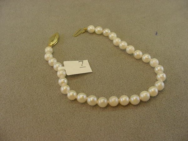 5007: CULTURED PEARL BRACELET