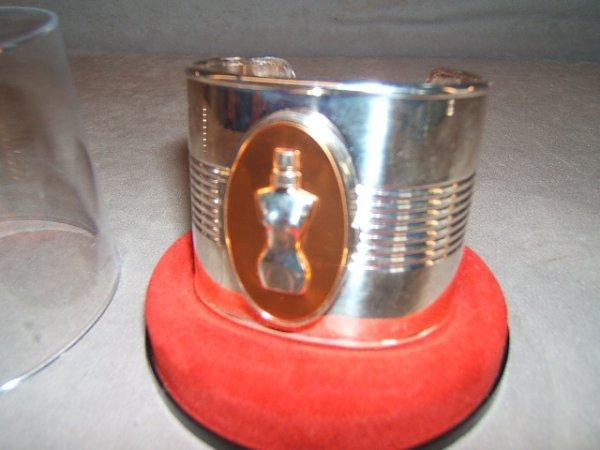 2004: JEAN PAUL GAULTIER CUFF BRACELET SOLID PERFUME