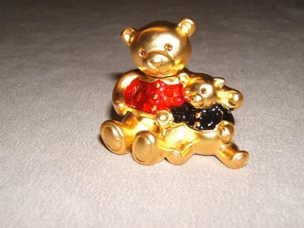 2009: ESTEE LAUDER BEADED TEDDY BEAR SOLID PERFUME