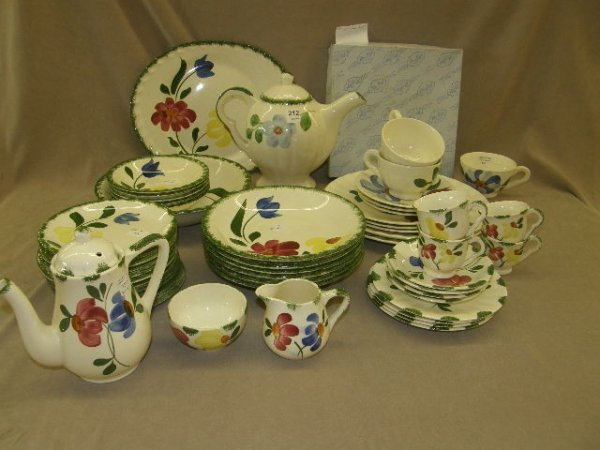 3212: GROUP OF BLUE RIDGE INCLUDING 'RUTLEDGE' WARE