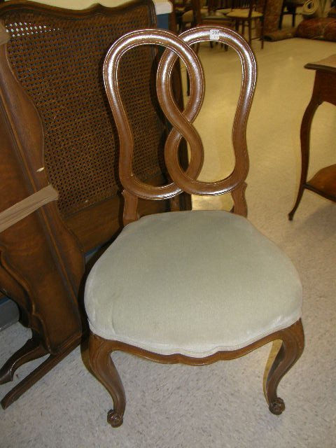 3208: FRENCH STYLE SIDE CHAIR
