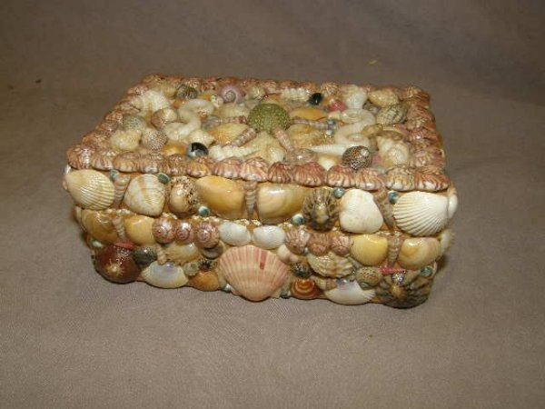 5069: SHELL CLAD HINGED BOX