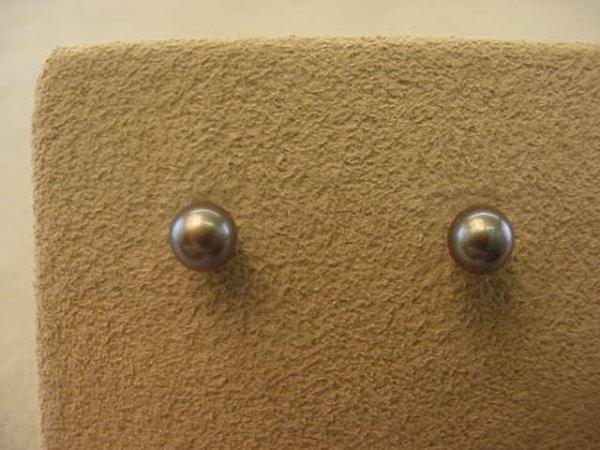 9009: 14K GOLD CULTURED PEARL EARRINGS