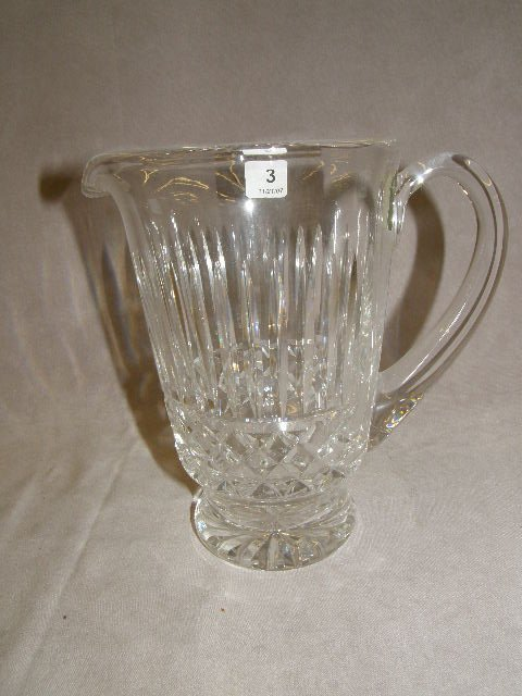 4003: WATERFORD CUT GLASS PITCHER