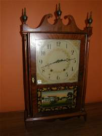 8365: BISHOP & BRADLEY 19TH CENTURY CLOCK