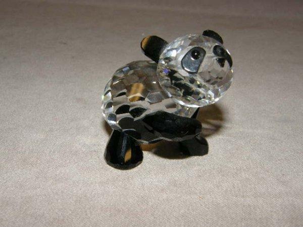 9007: SWAROVSKI CRYSTAL PANDA WITH BOX