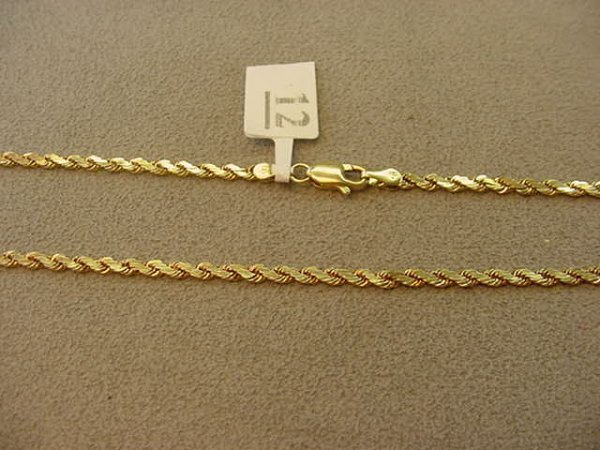 1012: 14K GOLD CHAIN