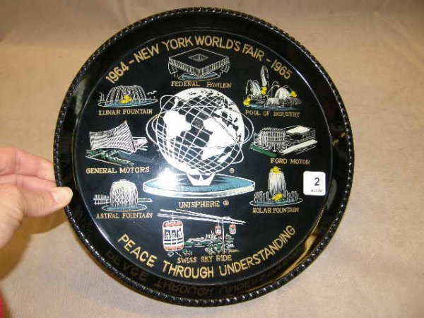 4002: NEW YORK WORLD'S FAIR TRAY