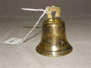 TIFFANY & CO. STERLING BELL