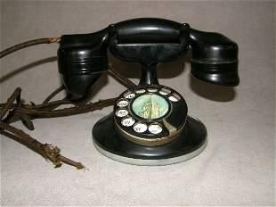 VINTAGE ROTARY TELEPHONE-MONOPHONE, AUTO ELECTRIC