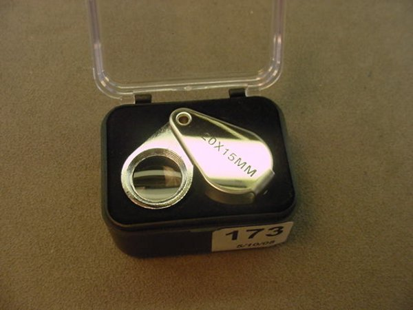 5173: 20X JEWELERS LOUPE IN CASE