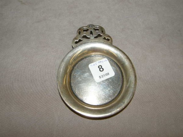 7008: SMALL STERLING TRAY