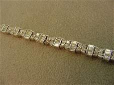3323 14K WHITE GOLD 350 CT TW DIAMOND BRACELET