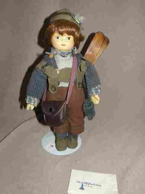 GERMAN DOLL ON STAND