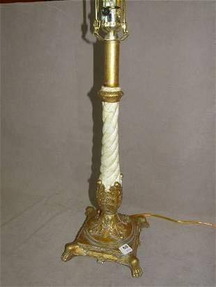 TWIST COLUMN COMPOSITION LAMP