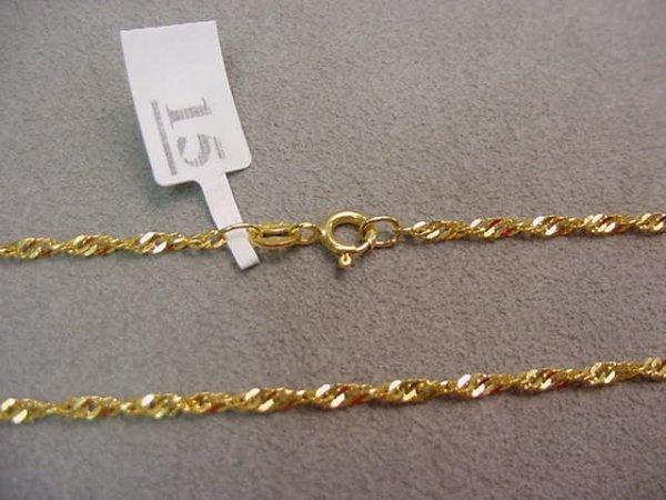 1015: 22K GOLD CHAIN
