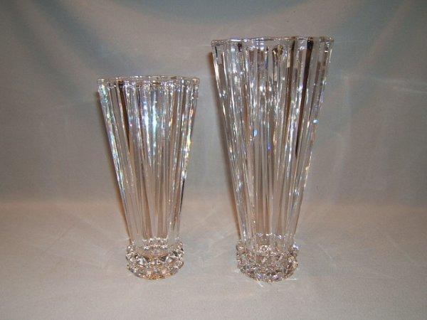 2140: 2 ROSENTHAL GLASS VASES