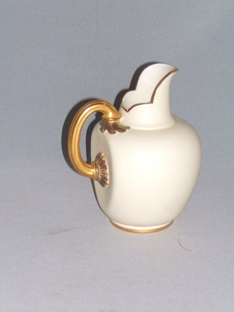 4063: GOLD DECORATED ROYAL WORCESTER PITCHER