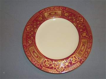 4084: 12 TIFFANY & CO. ROYAL WORCESTER PLATES