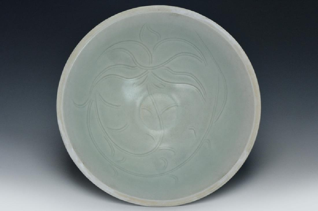 A Carved Yingqing Bowl, Song Dynasty