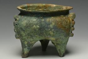 An Archaic Bronze Li, Spring and Autumn Period